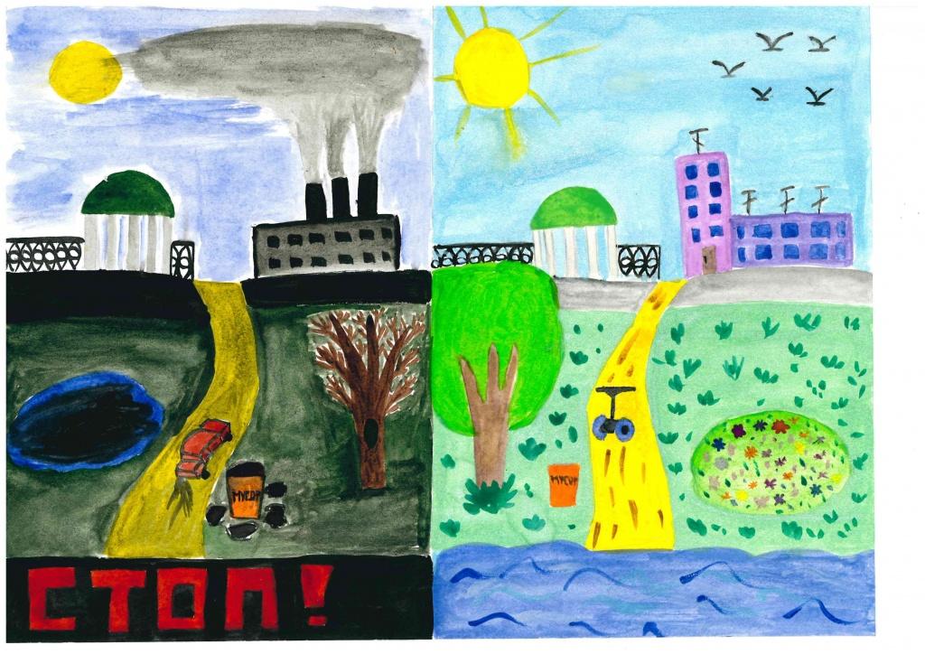 Рисунки про экологии природы